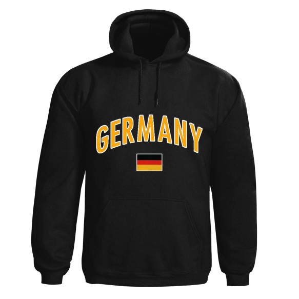 Germany MyCountry Pullover Arch Hoodie (Black)
