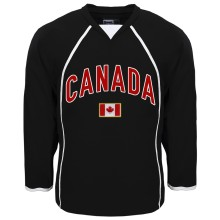 Canada MyCountry Fan Hockey Jersey (Black)