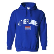 Netherlands MyCountry Pullover Arch Hoody (Royal)
