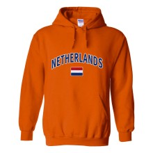 Netherlands MyCountry Pullover Arch Hoody (Orange)