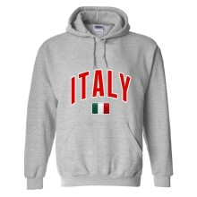 Italy MyCountry Pullover Arch Hoody (Sport Gray)