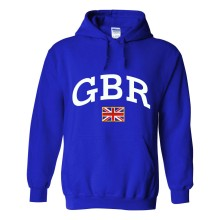 Great Britain MyCountry Pullover Arch Hoodie (Royal)