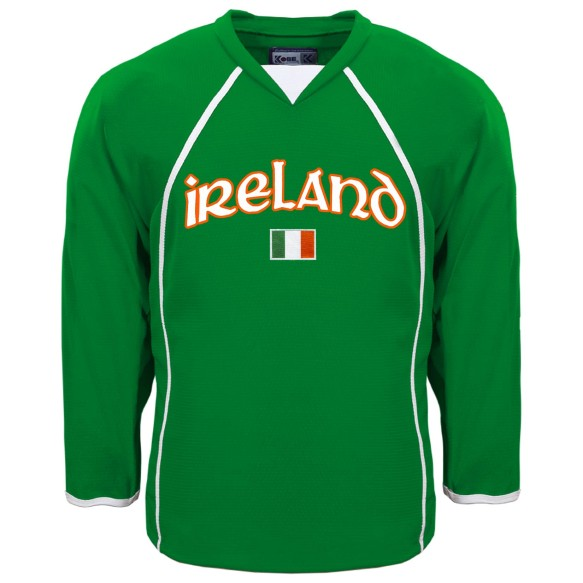 Ireland MyCountry Fan Hockey Jersey (Kelly)