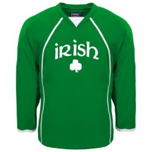 St. Patrick's Irish Pride Hockey Jersey (Kelly)