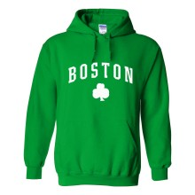 Boston Irish Pride Pullover Hoodie (Kelly)