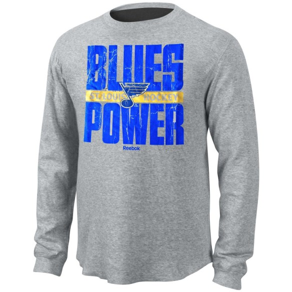 St. Louis Blues *Blues Power* Long Sleeve T-Shirt