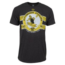 Pittsburgh Steelers Huddle T-Shirt (Classic Logo)