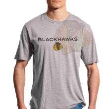 Chicago Blackhawks Genuine Team FX T-Shirt (Steel Gray)
