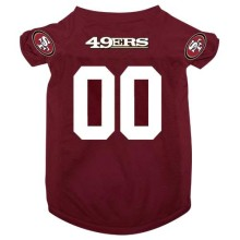 San Francisco 49ers NFL Pet Jersey