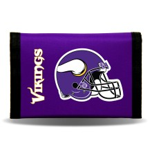 Minnesota Vikings Tri-Fold Nylon Wallet