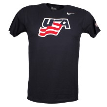 Team USA IIHF Logo T-Shirt