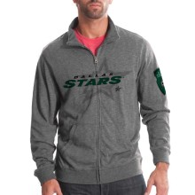 Dallas Stars Tried And True FX Full Zip Crew (Heather Charcoal)