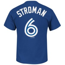 Toronto Blue Jays Marcus Stroman MLB Player Name & Number T-Shirt
