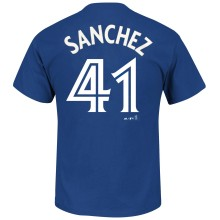 Toronto Blue Jays Aaron Sanchez MLB Player Name & Number T-Shirt