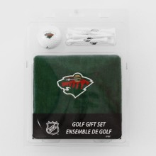 Minnesota Wild NHL Golf Towel, Golf Ball & 8 Tee Set