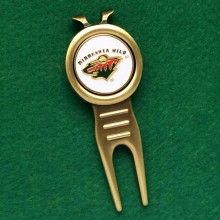 Minnesota Wild NHL Golf Divot Repair & Marker