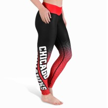 Chicago Blackhawks Women's Gradient Leggings