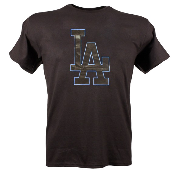 Los Angeles Dodgers Back In Black T-Shirt