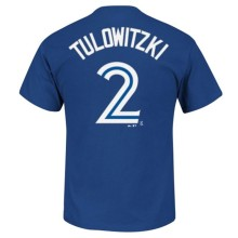 Toronto Blue Jays Troy Tulowitzki MLB Player Name & Number T-Shirt