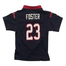 Houston Texans Arian Foster NFL Team Apparel Toddler Replica Football Jersey