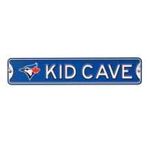 Toronto Blue Jays KID CAVE Authentic Steel Street Sign