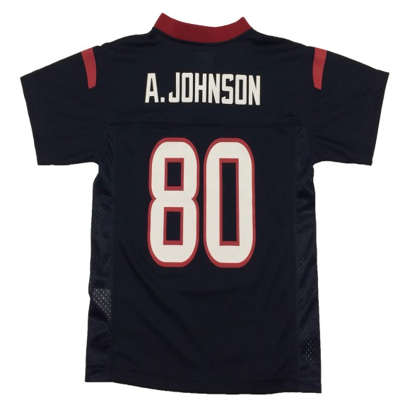 Houston Texans Andre Johnson NFL Team Apparel Child Replica Football Jersey