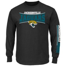 Jacksonville Jaguars 2015 Primary Receiver Long Sleeve NFL T-Shirt