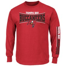 Tampa Bay Buccaneers NFL Primary Receiver Long Sleeve T-Shirt