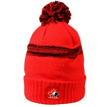 Team Canada IIHF Cuffed Pom Knit Hat (Red)