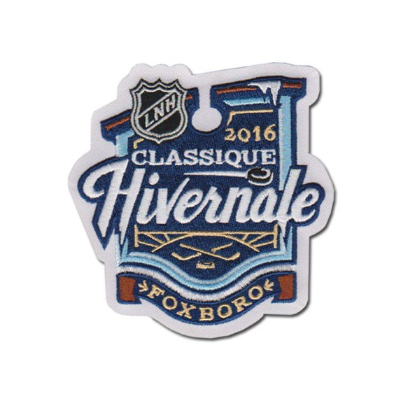 2016 NHL Winter Classic Logo Patch (French)
