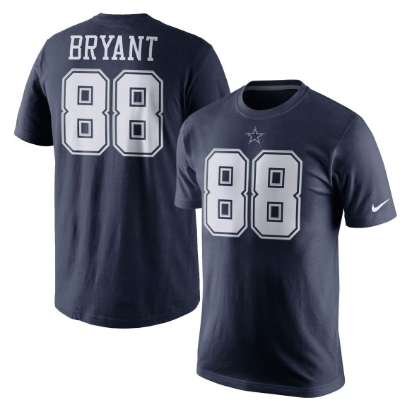 Dallas Cowboys Dez Bryant NFL Player Pride Name and Number II T-Shirt