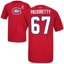 Montreal Canadiens Max Pacioretty Reebok NHL Player Name & Number T-Shirt