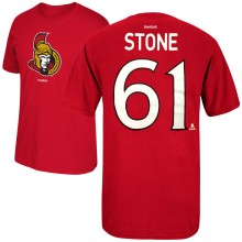 Ottawa Senators Mark Stone Reebok NHL Player Name & Number T-Shirt