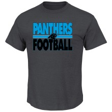 Carolina Panthers Custom Football 2 T-Shirt