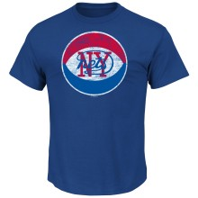 New Jersey Nets Weathered Post Up NBA T-Shirt