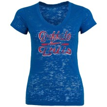 Buffalo Bills Women's Signal Burnout T-Shirt