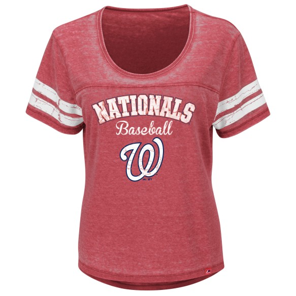 Washington Nationals Women's Loving The Game T-Shirt