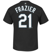 Chicago White Sox Todd Frazier MLB Player Name & Number T-Shirt (Black)