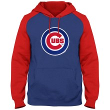 Chicago Cubs Twill Logo Raglan Express Hoody