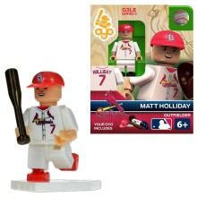 St. Louis Cardinals Matt Holliday OYO Sports Minifigure