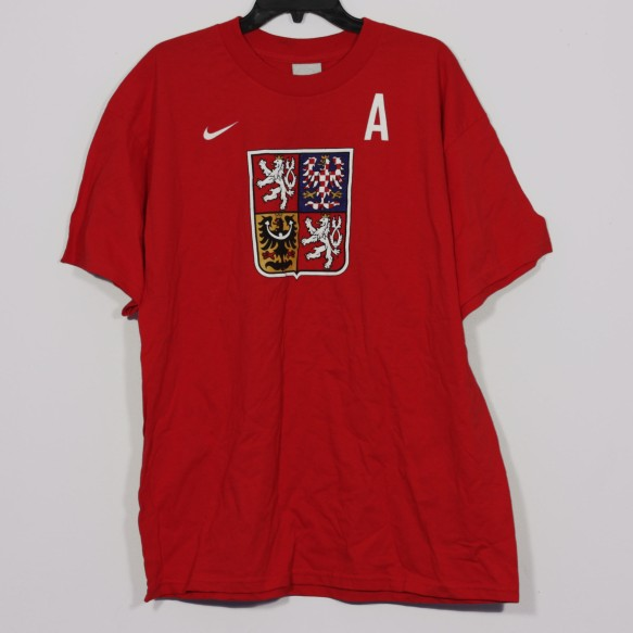 Team Czech IIHF Logo T-Shirt (No Jersey Left Behind)
