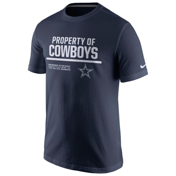Dallas Cowboys NFL Nike Property Of T-Shirt