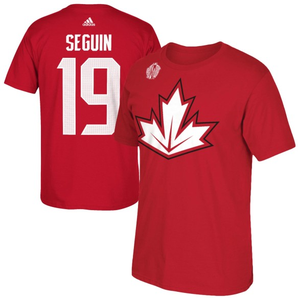 Canada Tyler Seguin World Cup Of Hockey Player Name & Number T-Shirt
