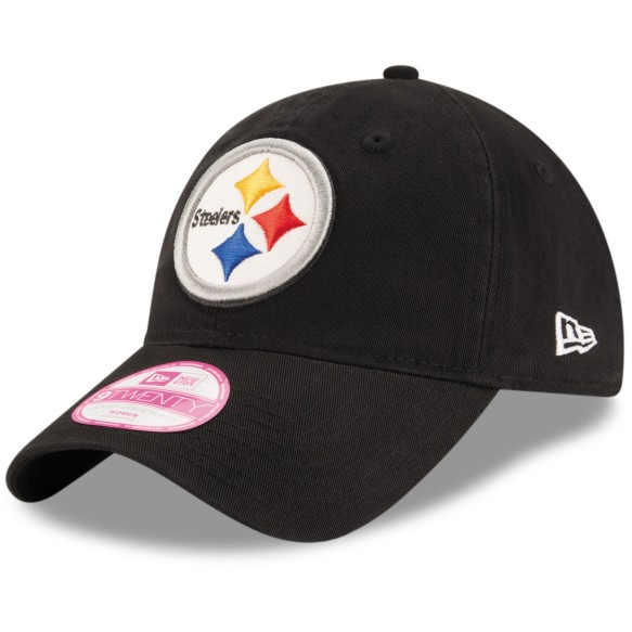 Pittsburgh Steelers Women's Team Glisten Relaxed Fit 9TWENTY Cap