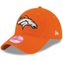 Denver Broncos NFL New Era Women's Team Glisten Relaxed Fit 9TWENTY Cap