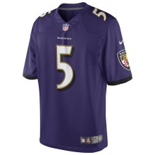 Baltimore Ravens Joe Flacco NFL Nike Limited Team Jersey