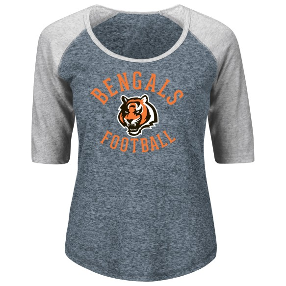 Cincinnati Bengals Women's Act Like A Champion NFL T-Shirt