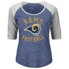 Los Angeles Rams Women's Act Like A Champion NFL T-Shirt