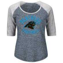 Carolina Panthers Women's Act Like A Champion NFL T-Shirt