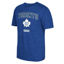 Toronto Maple Leafs CCM Retro Stitches Tri-Blend T-Shirt